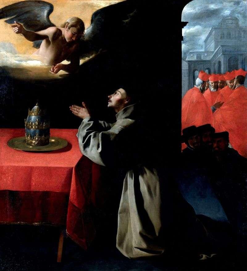 Modlitwa św. Bonawentury   Francisco de Zurbaran