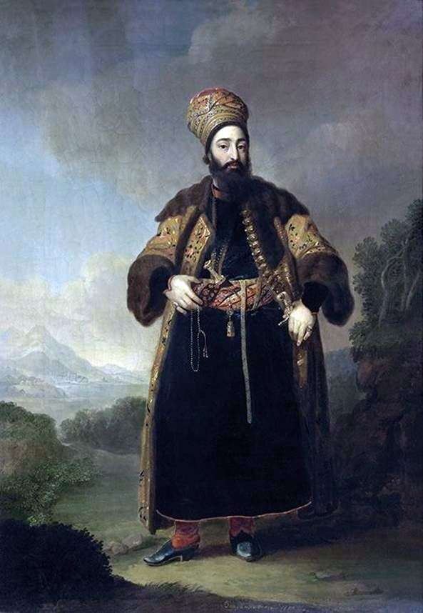 Portret Murtazy Kuli Khan   Vladimir Borovikovsky