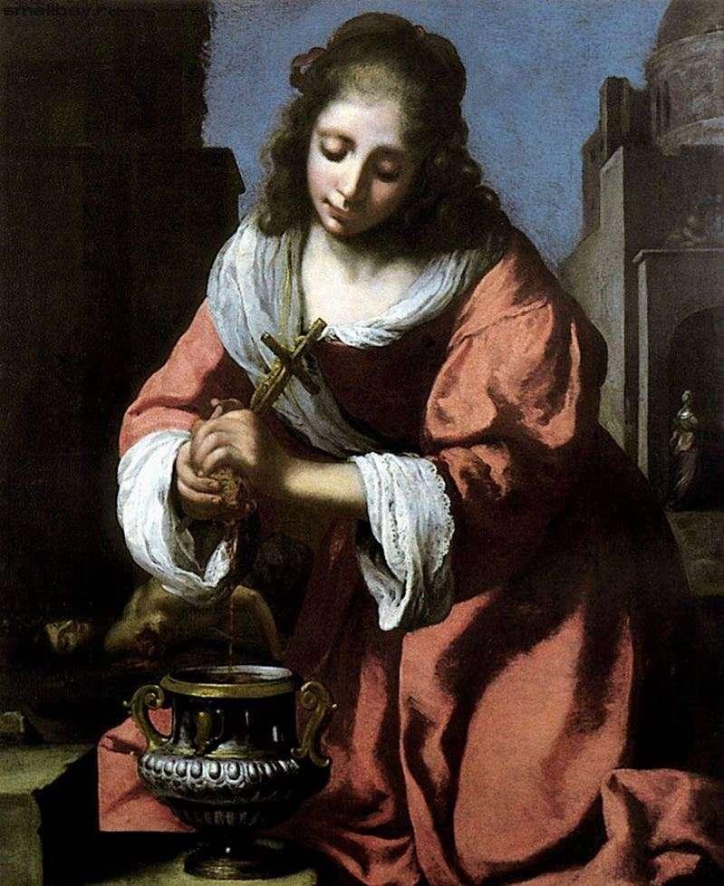 Święta Prakseda   Jan Vermeer