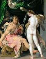 Hercules and Omphale   Bartholomeus Spranger