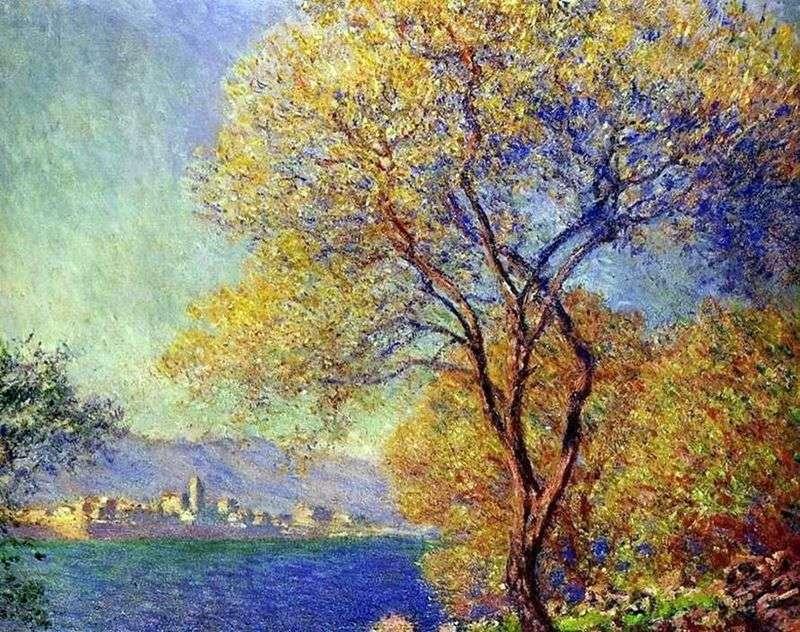 Antibes rano   Claude Monet