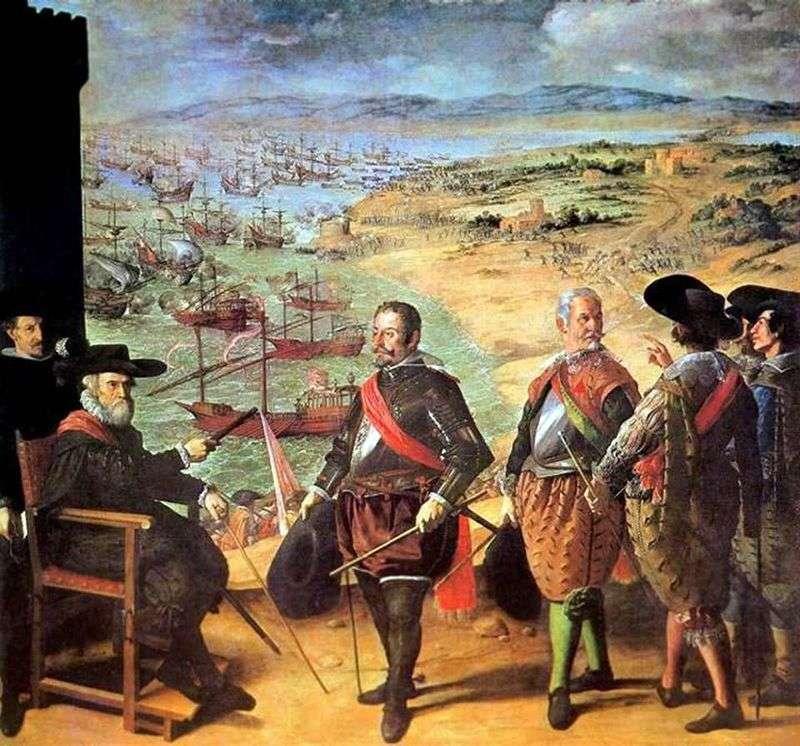 Obrona Kadyksu   Francisco de Zurbaran