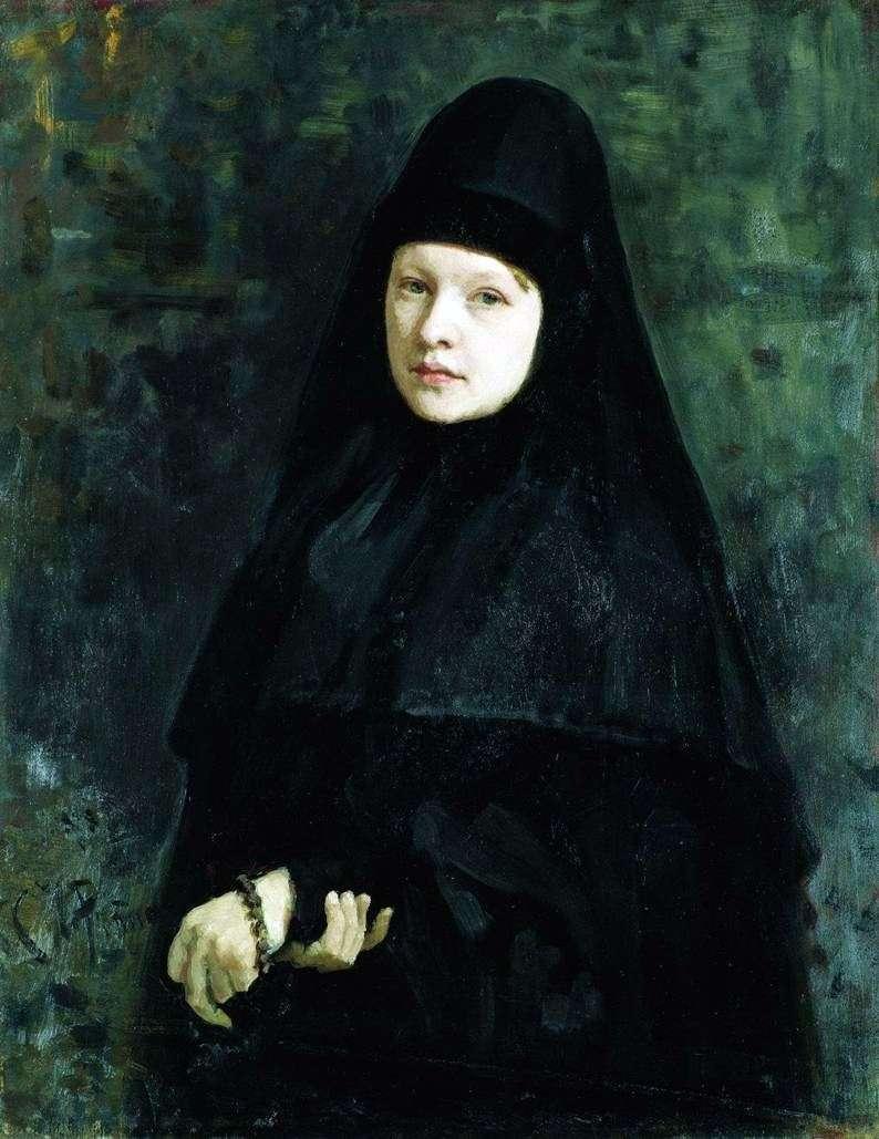 Nun   Ilya Repin