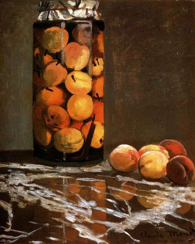 Peach Can   Claude Monet