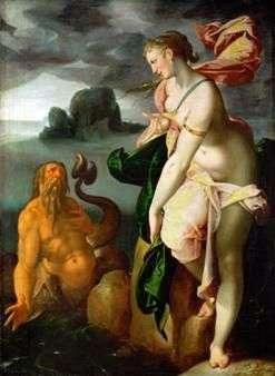 Glaucus i Scylla   Bartholomeus Spranger
