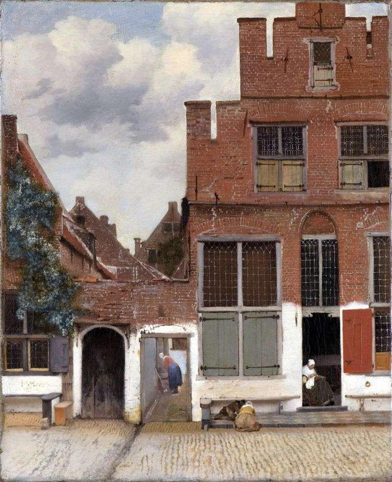 Ulica Delft   Jan Vermeer