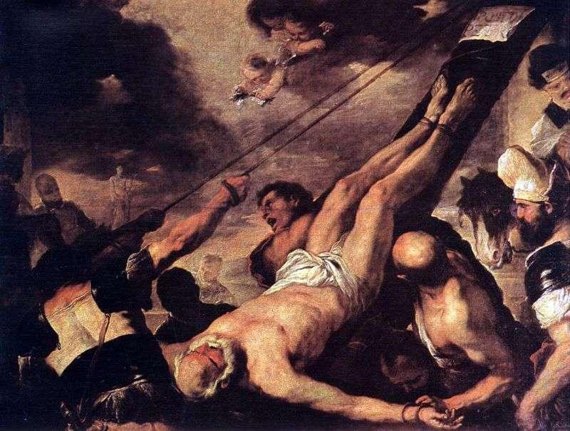 Ukrzyżowanie świętego Piotra   Luca Giordano