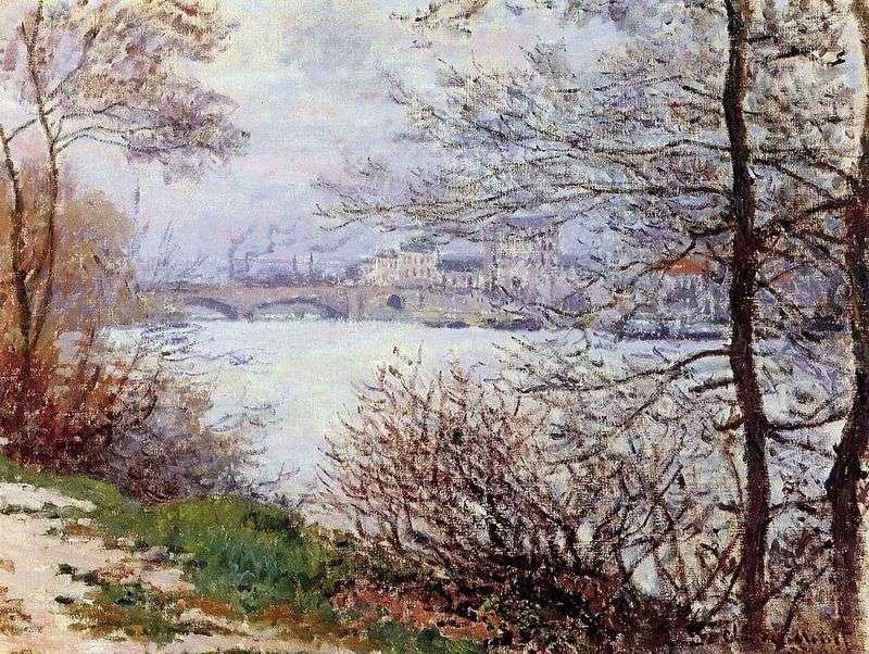 Brzegu Sekwany   Claude Monet