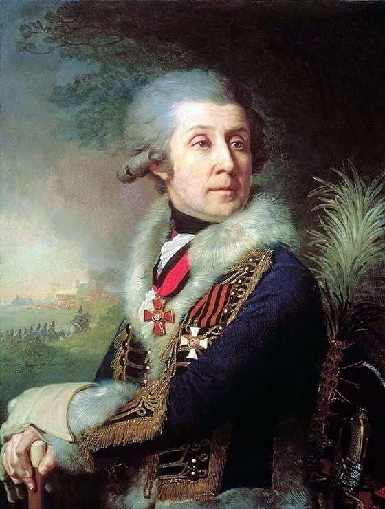 Portret F. A. Borovsky   Vladimir Borovikovsky