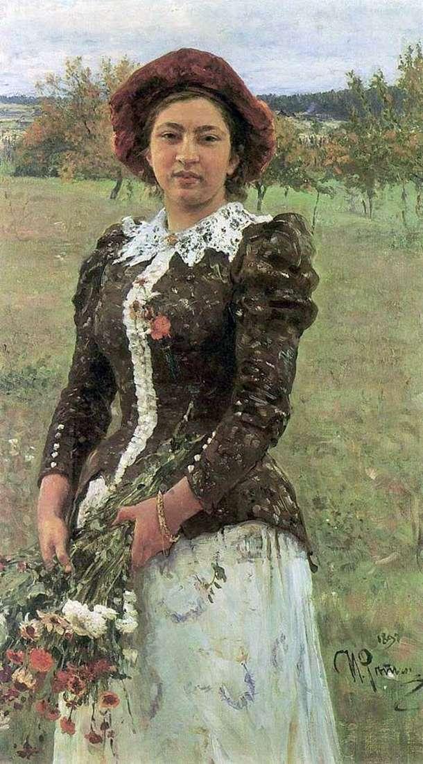Jesienny bukiet (córka Vera)   Ilya Repin
