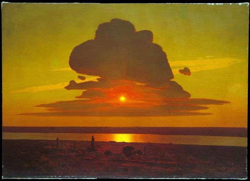 Red Sunset   Arkhip Kuindzhi