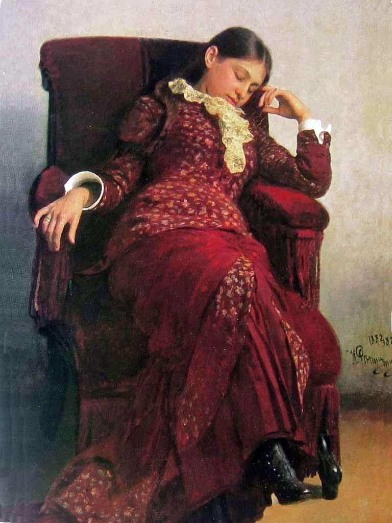 Odpoczynek   Ilya Repin