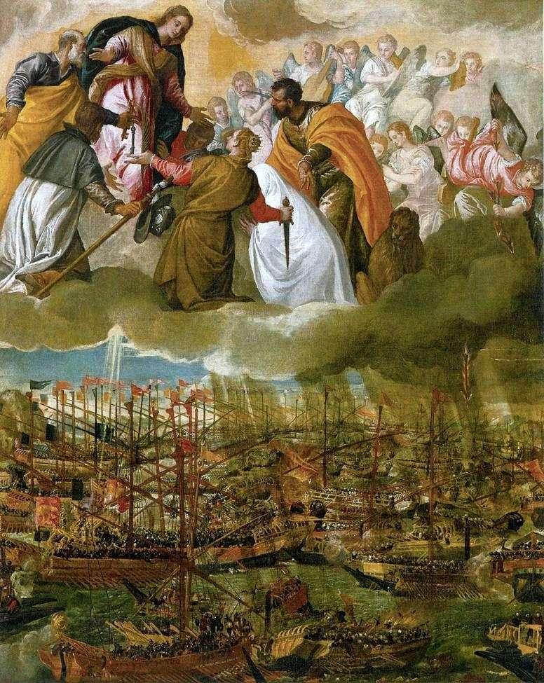 Alegoria bitwy pod Lepanto   Paolo Veronese