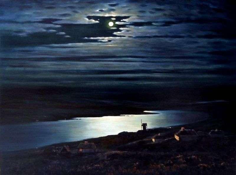 Księżycowa noc nad Dnieprem   Arkhip Kuindzhi