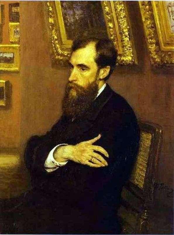 Pavel Mikhailovich Tretyakov   Ilya Repin