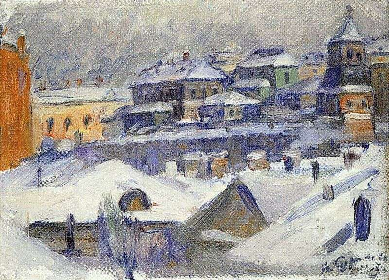Widok z Moskwy   Wasilij Surikow