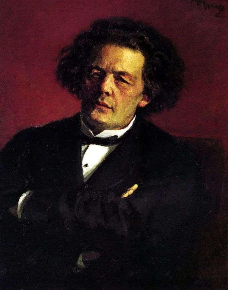Portret A. G. Rubinsteina   Ilya Repin