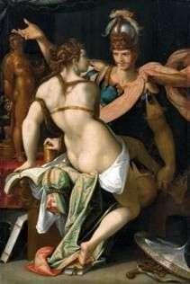 Circe and Odyssey   Bartholomeus Spranger