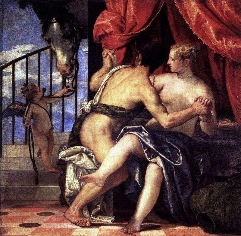 Wenus i Mars z Kupidynem i Koniem   Paolo Veronese