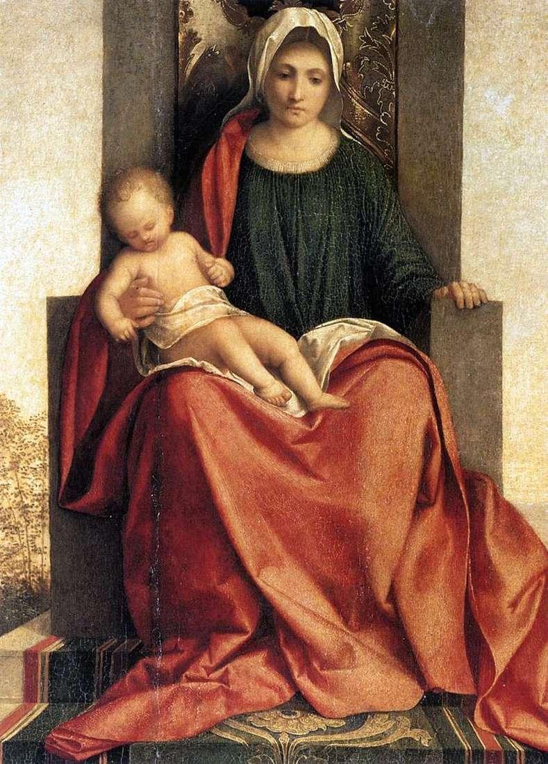 Madonna da Castelfranco   Giorgione