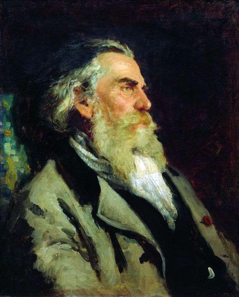 Portret A. P. Bogolyubov   Ilya Repin