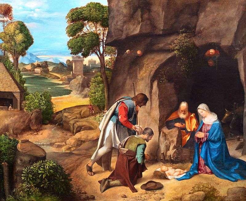 Adoracja Pasterzy   Giorgione