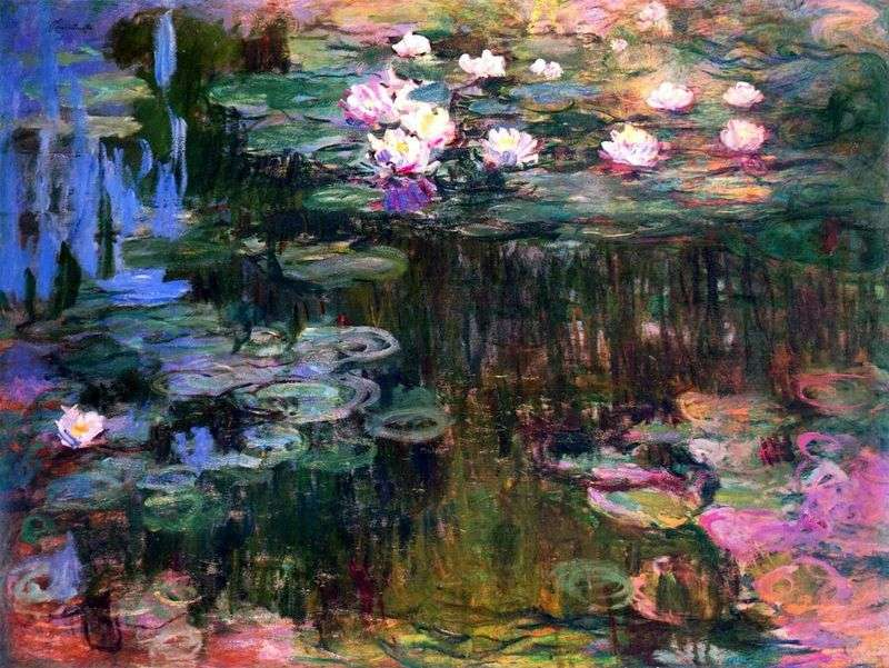 Lilie wodne   Claude Monet