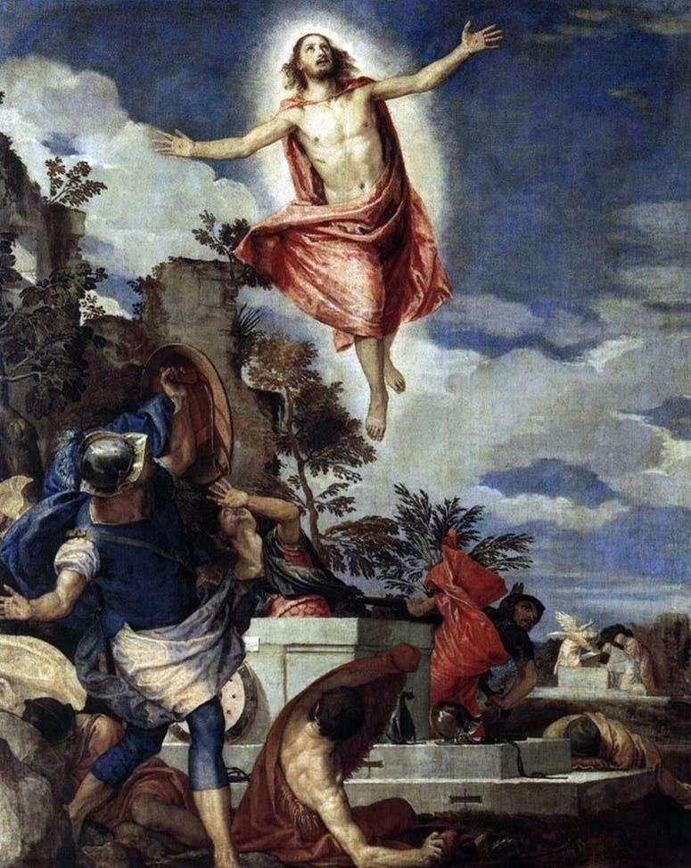 Zmartwychwstanie Chrystusa   Paolo Veronese