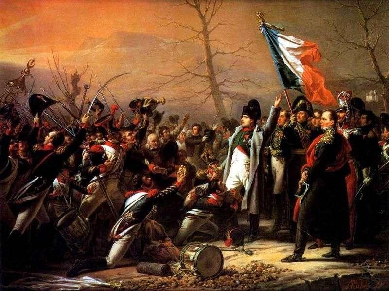 Powrót Napoleona z wyspy Elba   Wasilij Iwanowicz Sternberg