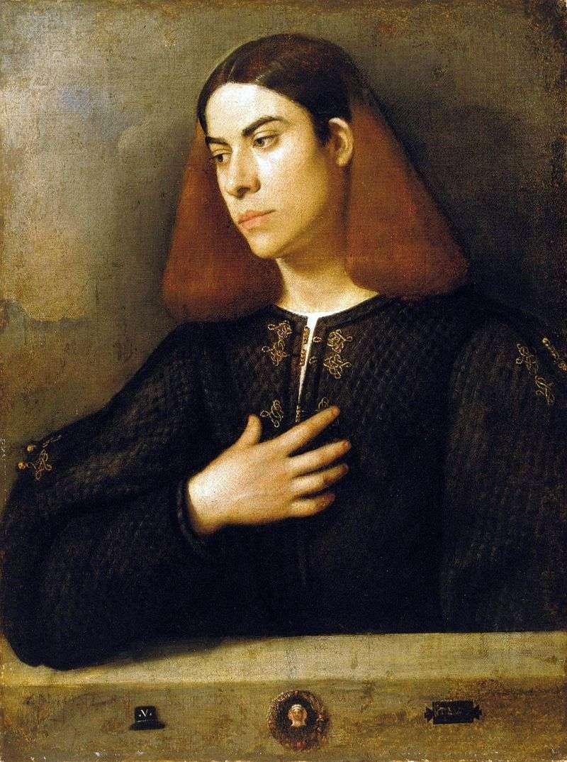 Portret Antonio Broccardo   Giorgione