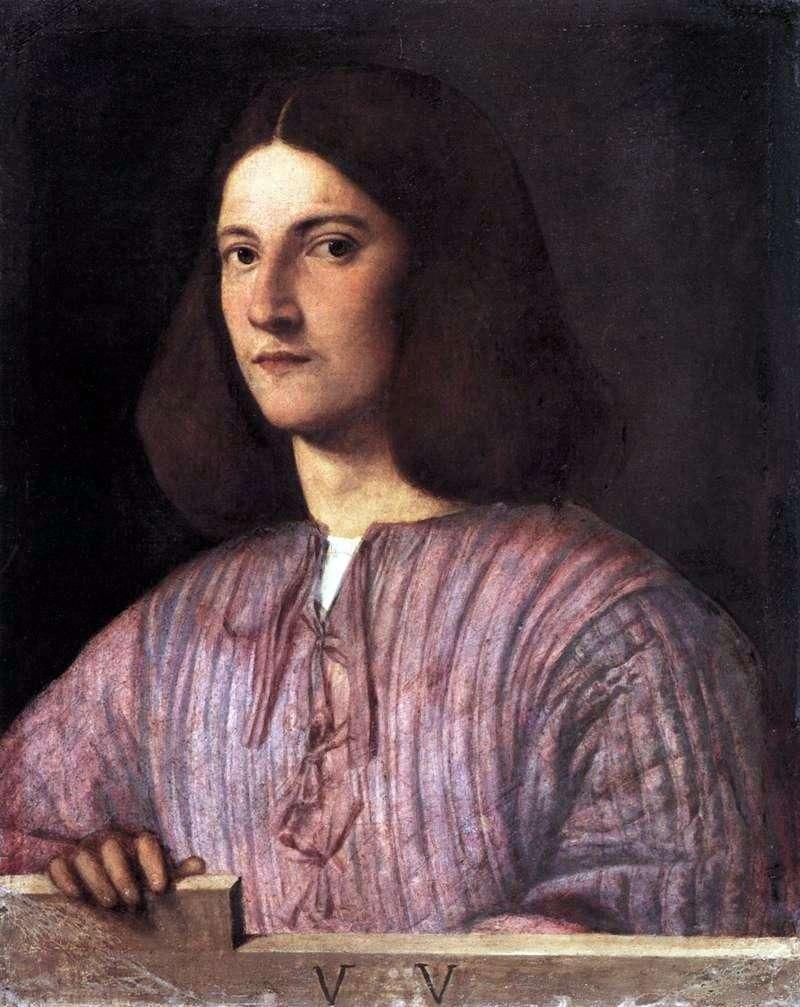Portret młodego mężczyzny   Giorgione