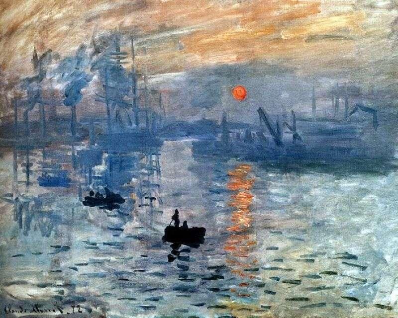 Wrażenie. Wschód słońca   Claude Monet