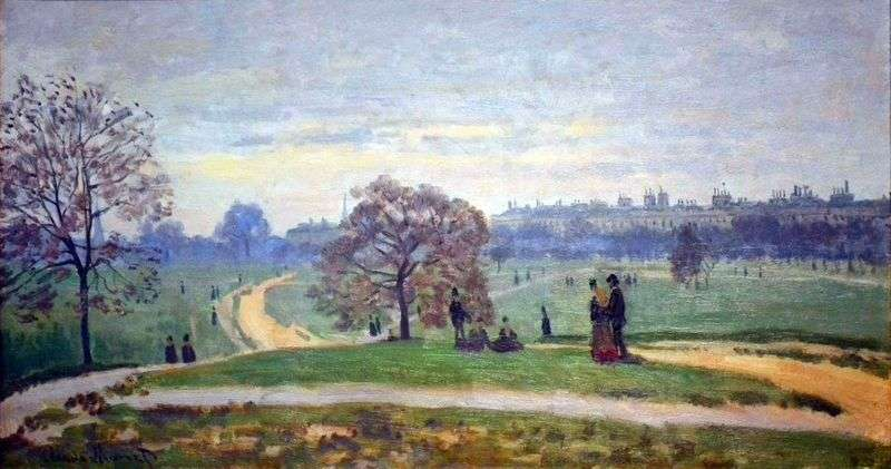 Hyde Park, Londyn   Claude Monet