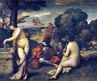 Wiejski koncert   Giorgione
