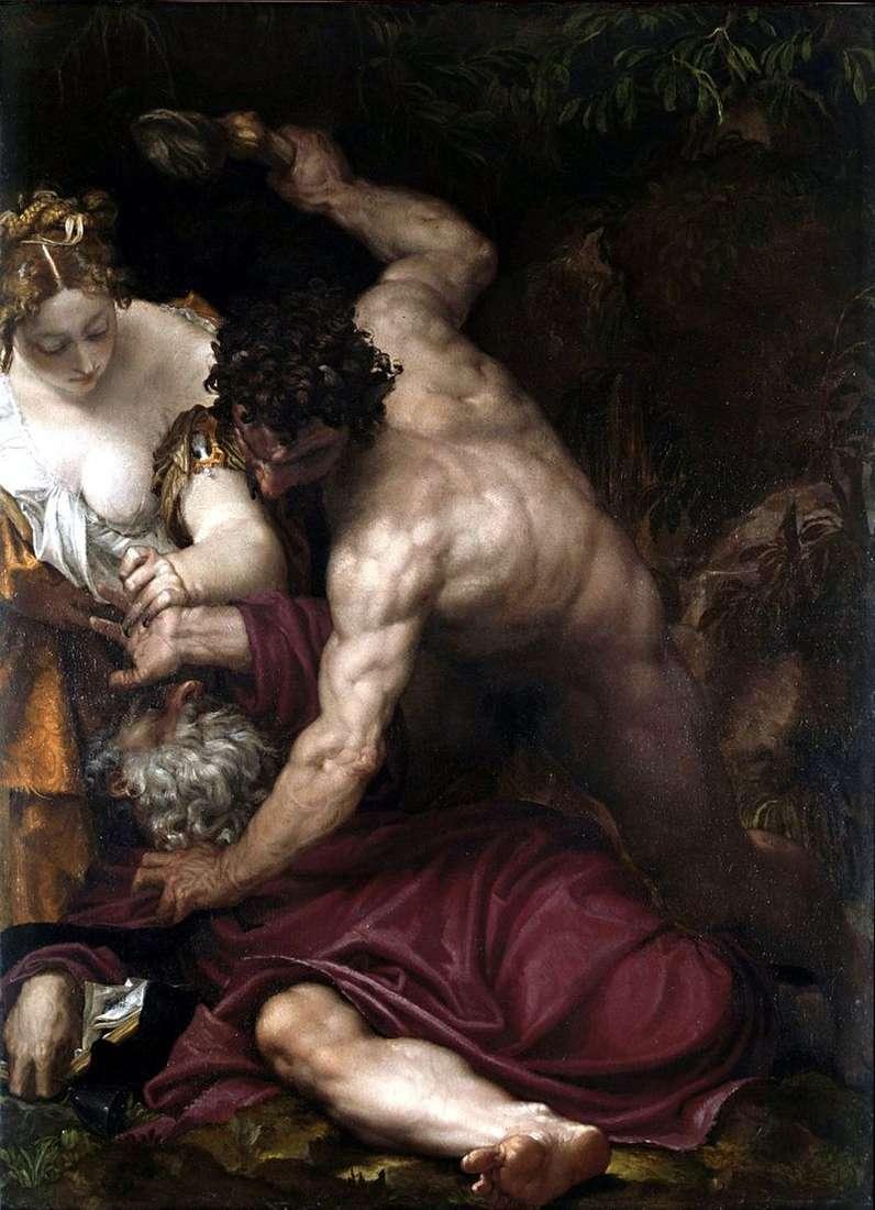 Kuszenie św. Antoniego   Paolo Veronese