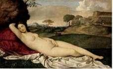 Śpiąca Wenus   Giorgione