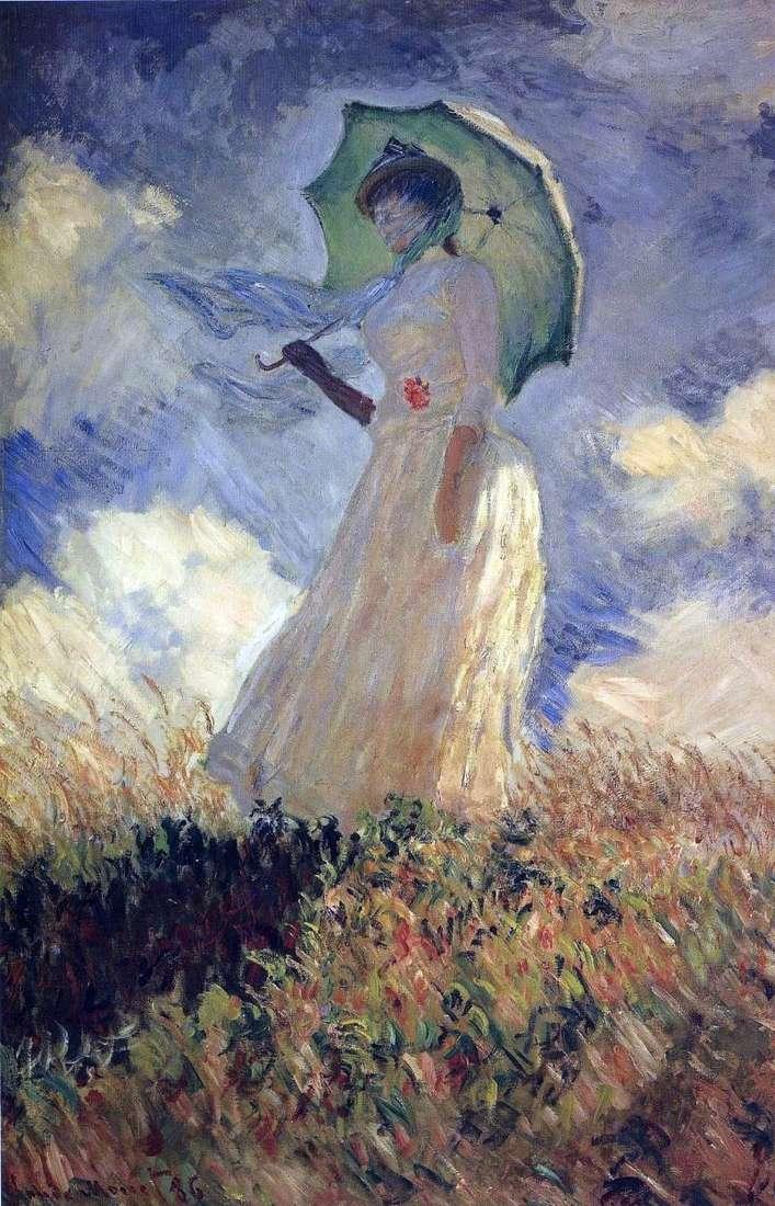 Pani z parasolem   Claude Monet