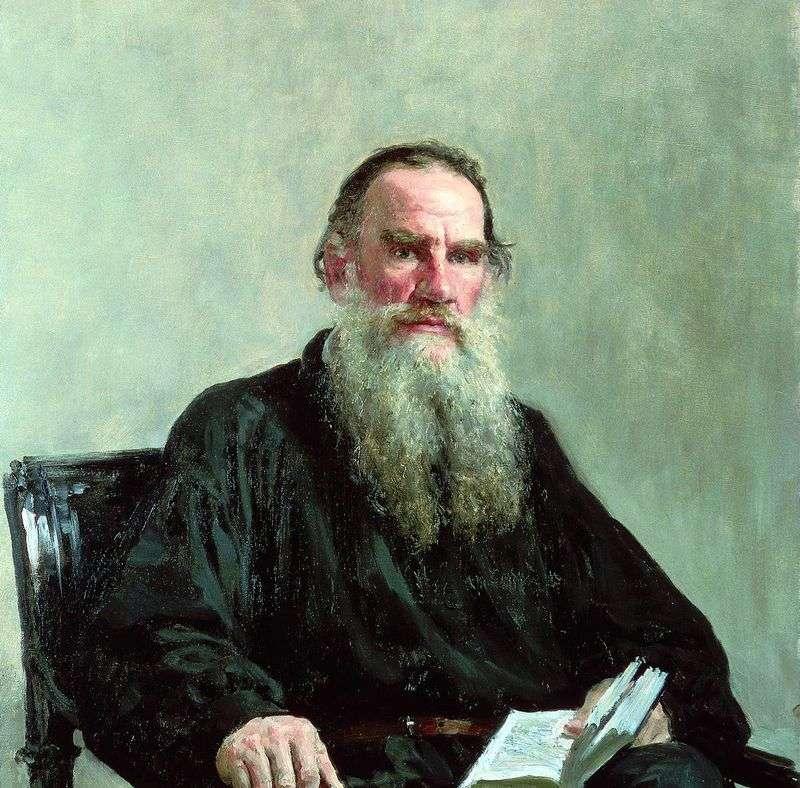 Portret L. N. Tołstoja   Ilya Repin