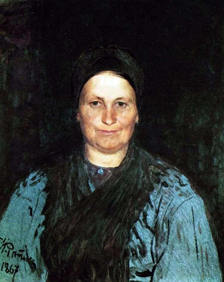 Portret matki   Ilya Repin