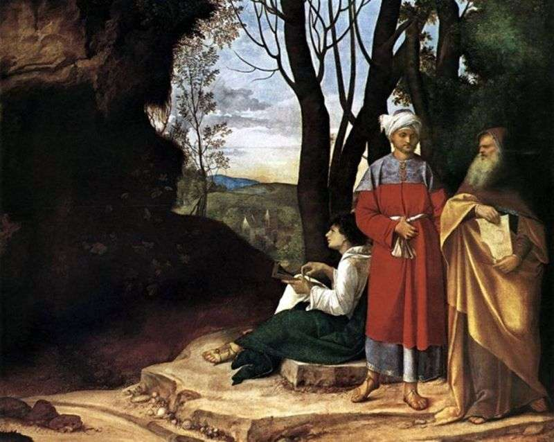 Trzej filozofowie   Giorgione