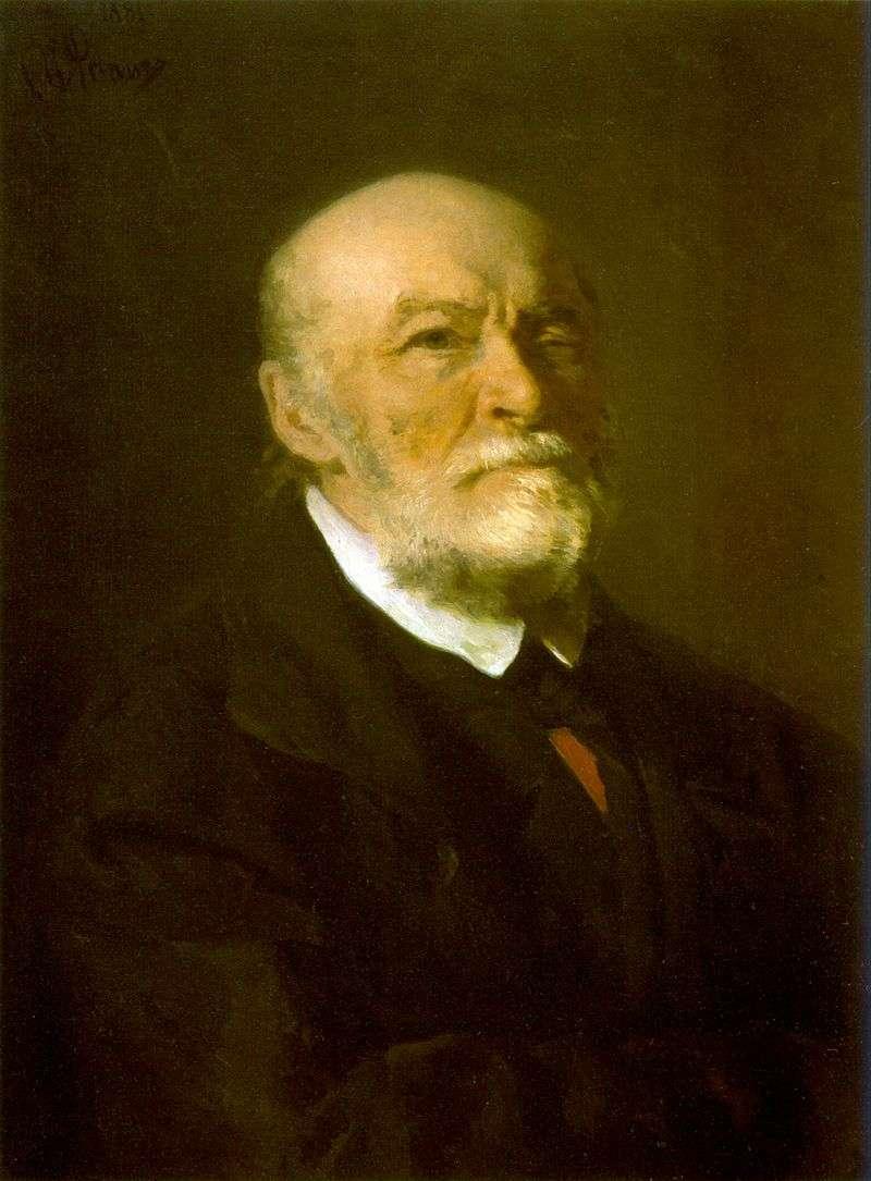 Portret N. I. Pirogova   Ilya Repin