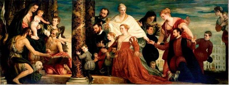 Madonna z rodziny Kuchchin   Paolo Veronese
