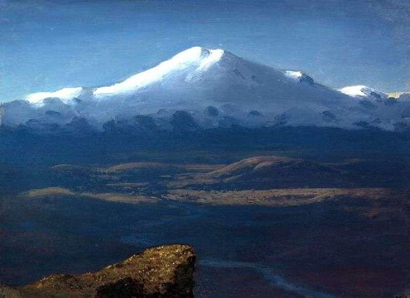 Snowy szczyty   Arkhip Kuindzhi