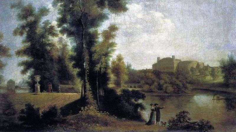 Widok na pałac Gatchina z Long Island   Siemion Shchedrin