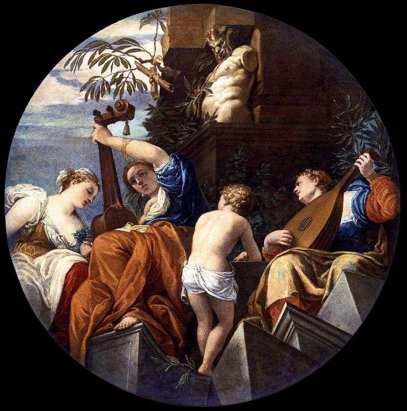 Muzyka   Paolo Veronese