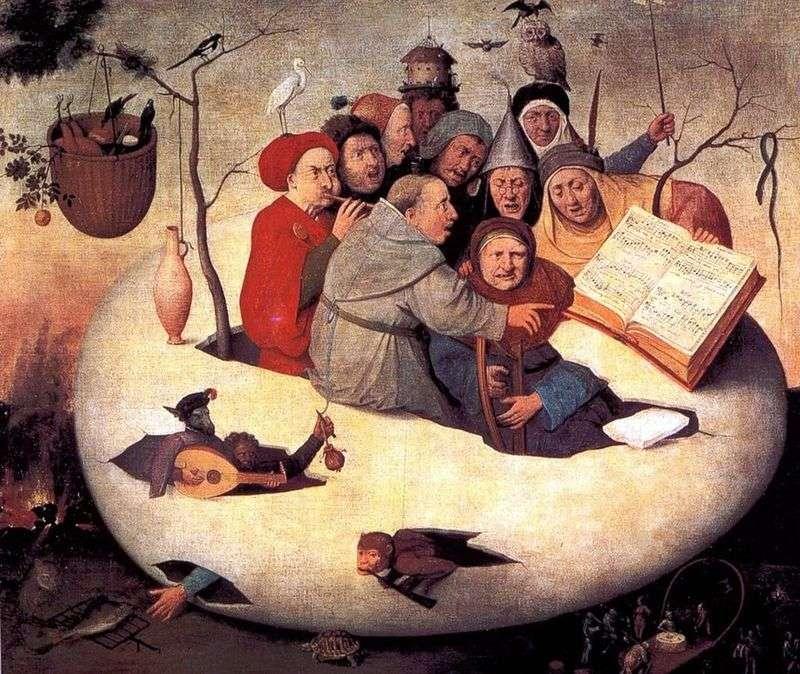 Koncert jajeczny   Hieronymus Bosch