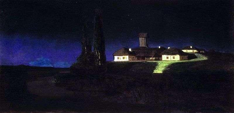 Ukraińska noc   Arkhip Kuindzhi