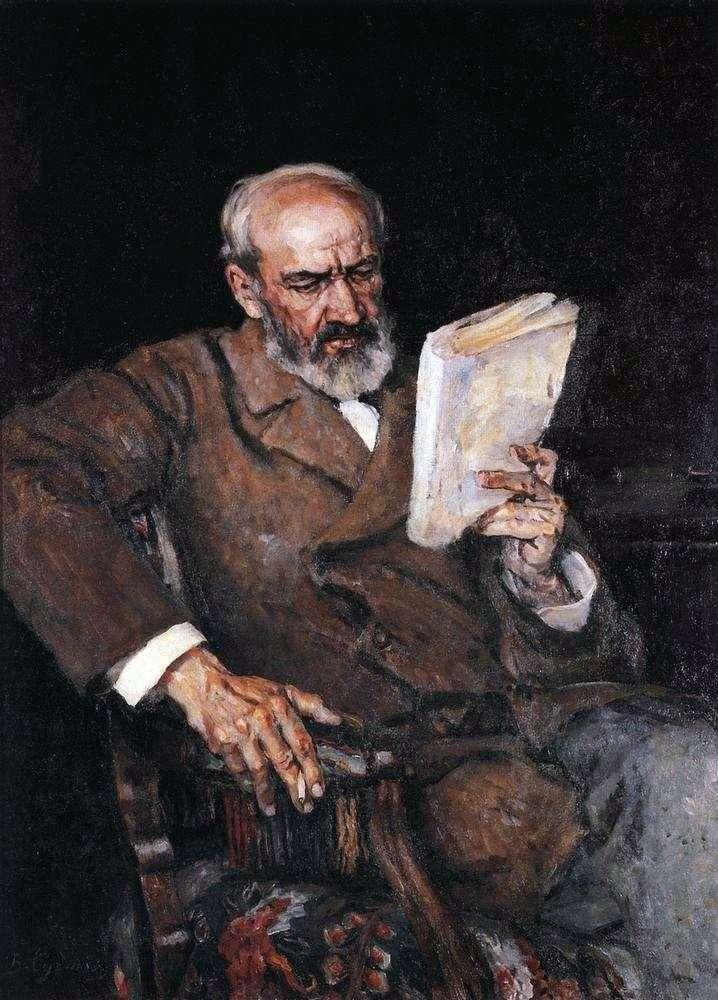 Portret dr. A. E. Yezerskyego   Wasilij Surikow