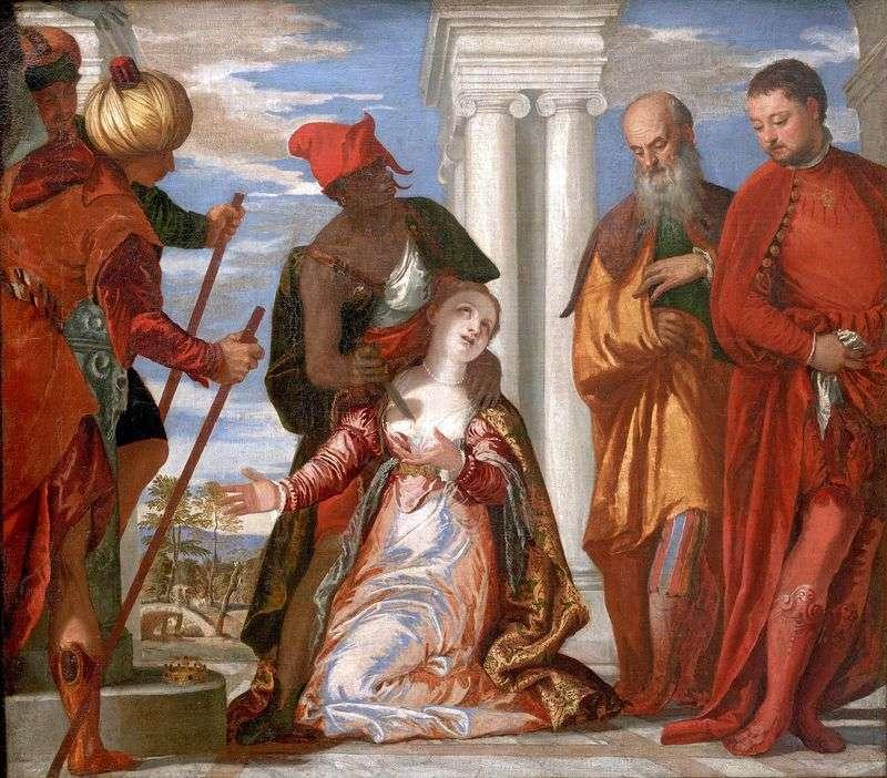 Męczeństwo świętej Justyny   Paolo Veronese
