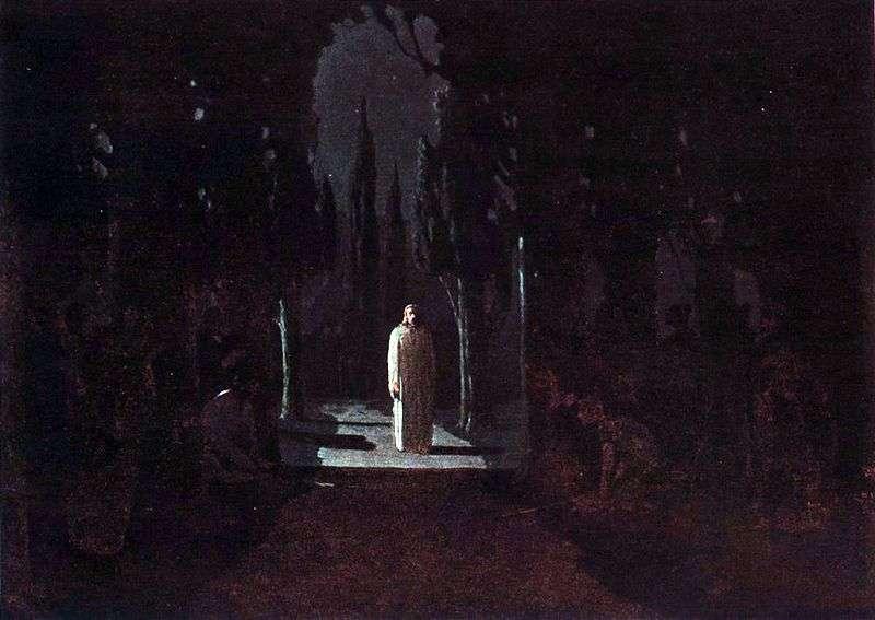 Chrystus w ogrodzie Getsemani   Arkhip Kuinji